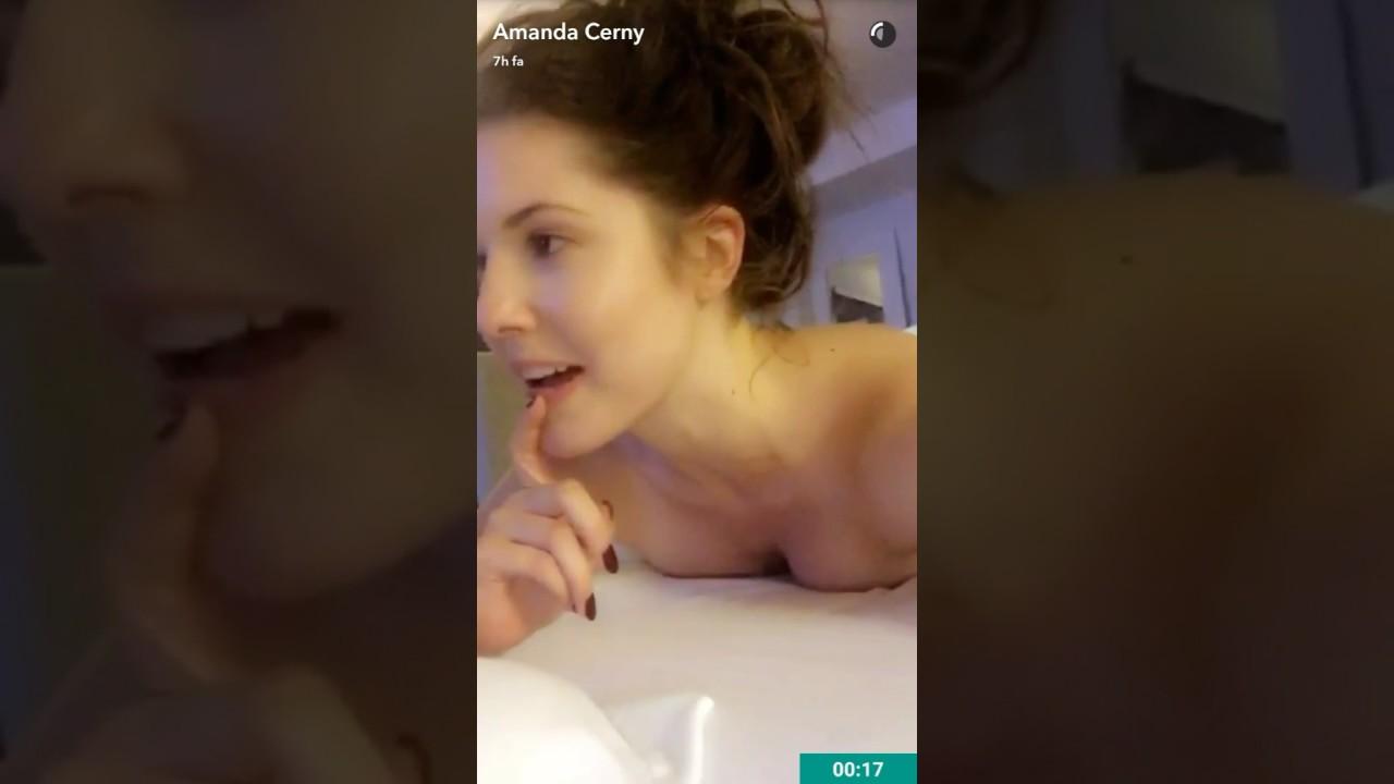 amanda cerny naked massage - hot snap story - youtube