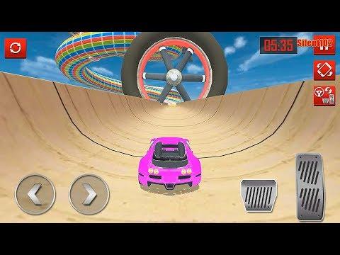 Mega Ramp Car Stunts Racing Impossible Tracks 3D #3 - Android Gameplay