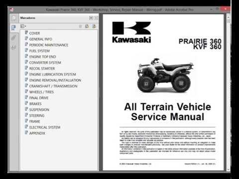 download now kvf360 kvf 360 prairie 4x4 2003 03 service repair workshop manual