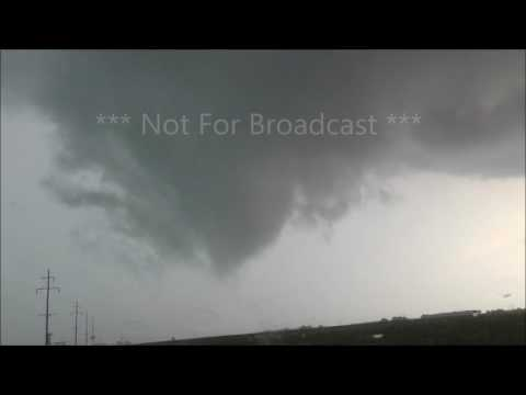 Princeville Dunlap Illinois Brief Tornado Funnels July 10th 2017