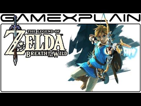 Zelda: Breath of the Wild Artist Explains Link's Design Changes