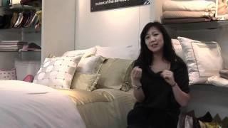 Kumi Kookoon Silk Bedding at the New York Gift Fair 2012   Luxe Home Philadelphia