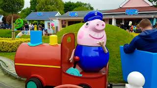 Ride on Train with Peppa Pig