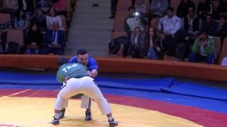 Борьба на поясах. Tatar wrestling