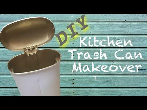 diy-furniture-makeover- -kitchen-trash-can