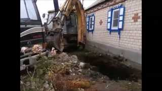 Емкость для канализации(Установка емкости для канализационных стоков с применением бетонного пригруза. Подробнее на сайте http://сеп..., 2014-10-19T11:26:33.000Z)