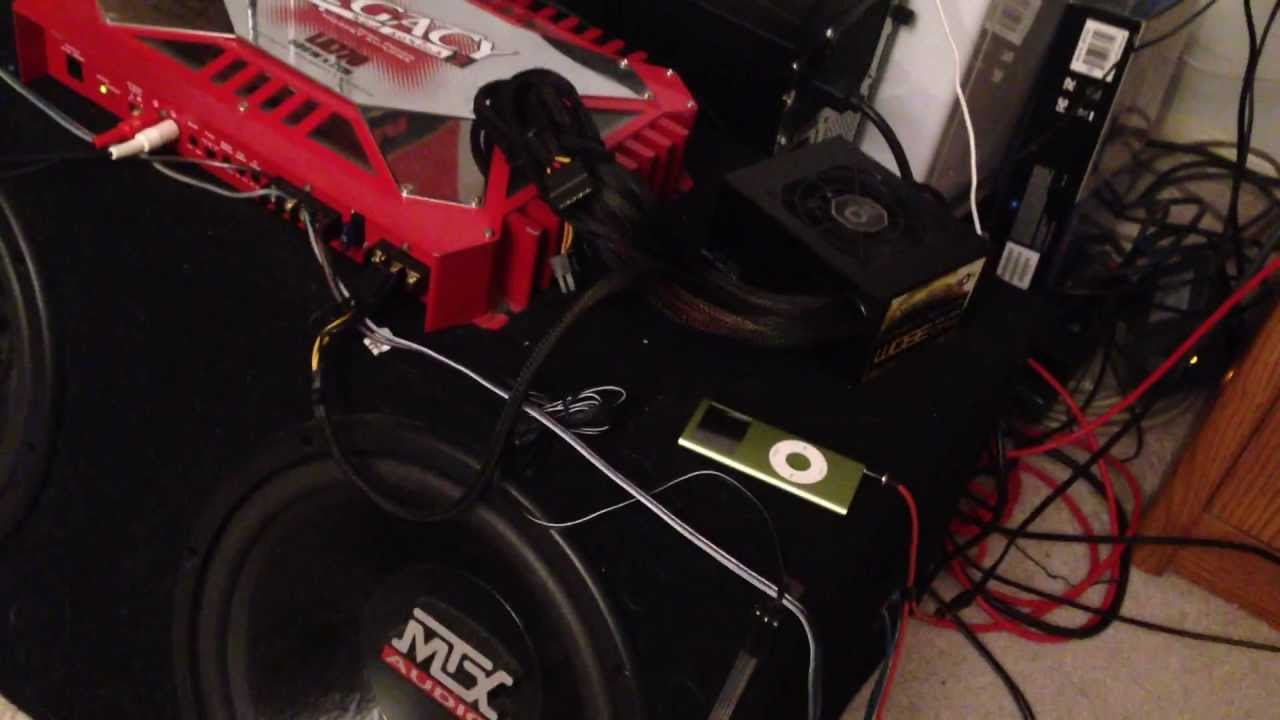 Car Subwoofer Set Up Install In Home Youtube Subwoofers Amplifiers At Sonic Electronix 2016 Release Date