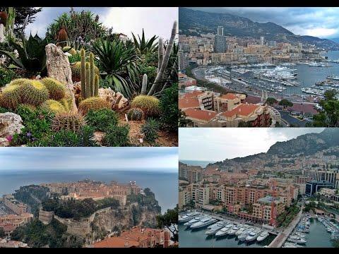 101. MONAKO - MONACO: Japanese gardens, Oceanographic Museum, Monte carlo, Cathedral Monaco