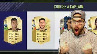 INSANE 89 WALKOUT FROM FUT DRAFT REWARDS! - FIFA 18 ULTIMATE TEAM