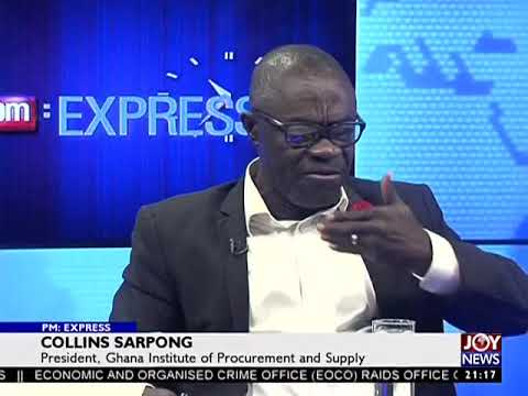 Public Procurement - PM Express on JoyNews (29-8-17)