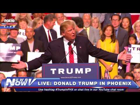FNN: Donald Trump's #StandWithTrumpAZ Phoenix Speech