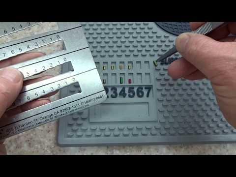 Kwikset-Schlage-Weiser-Weslock Key Decoder