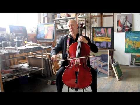Painter Simon Kramer meets cellist Ernst Reijseger