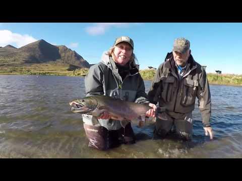 Fly Fishing For Salmon, Kodiak Island, Alaska (Long)