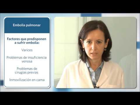 consecuencias tromboembolismo pulmonar