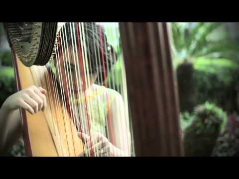 "Secret Garden - Song from a Secret Garden [Harp Cover] by Maria Pratiwi ""The Harpist"""