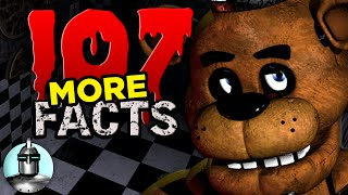 107 MORE Five Nights At Freddy's Facts YOU Should Know | The Leaderboard