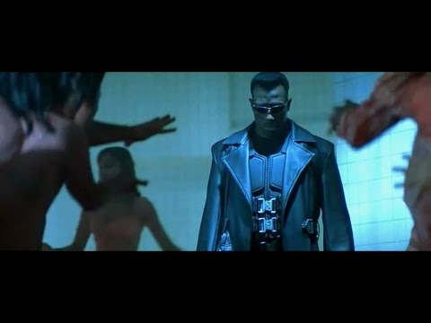 Blade Trilogy - Fight Moves Compilation HD