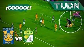 ¡Increíble! No ve el balón y cae el gol | Tigres 1 - 0 León | Liga MX Femenil Ap 2019 J16 | TUDN