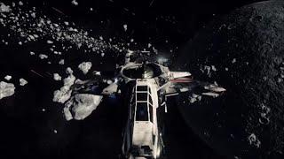 Star Citizen Alpha 2.2 - 12 Player Yela Asteroid Field Battle Chasing LvL 5 Criminal