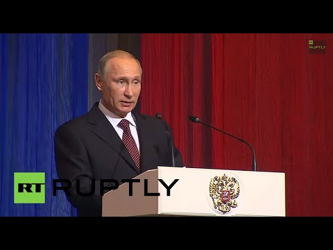 LIVE: Putin to meet 'People's Front' members in Saint Petersburg