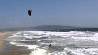 riding the surf ... whoa dude !