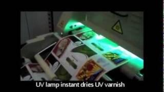 EZ15 Label UV Varnish station - KTEC GROUP UK