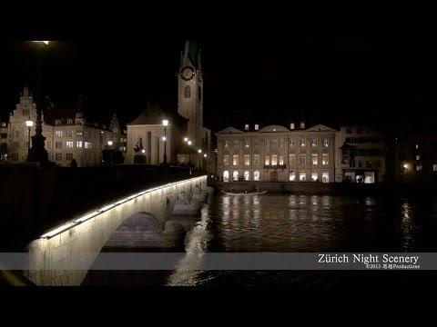 Zürich Night SWITZERLAND  チューリッヒ