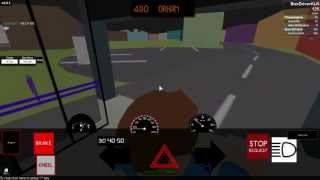 Roblox Bus Driver City - Route 490(To Orham)
