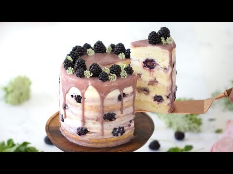 How To Make A Blackberry Cake