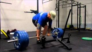 Bottom Half Squats & Deadlifts: July 25th, 2014
