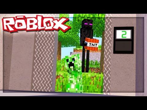 THE ROBLOX MINECRAFT ELEVATOR!? (Roblox Elevator Source)