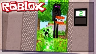 THE ROBLOX MINECRAFT ELEVATOR!? (Roblox Elevator Source)