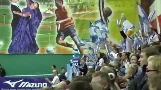 Волейбол суперлига.   Разминка  Нападающий удар  Динамо Москва