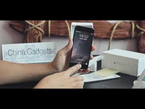 Китайский Айфон 6 на андроиде из Китая! Обзор лучшей копии iPhone 6!