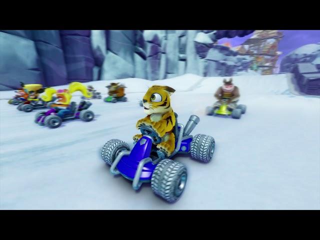 Crash Team Racing Nitro-Fueled (видео)
