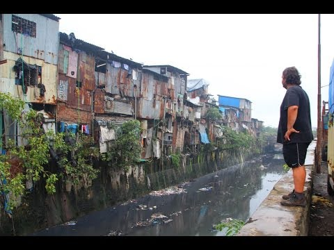 Bombaj tour (7.) - Slum Dharavi (HD) / Mumbai cycling (7.) -