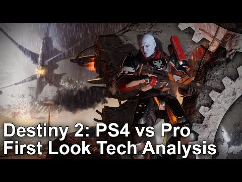 Destiny 2 PlayStation 4 Pro and Xbox One X enhancements