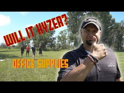 Will It Hyzer? Office Supplies