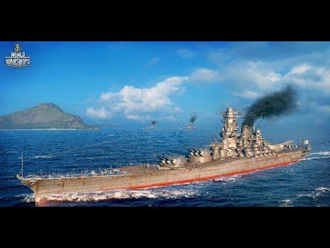 World of Warships Legends : Yamato - YouTube