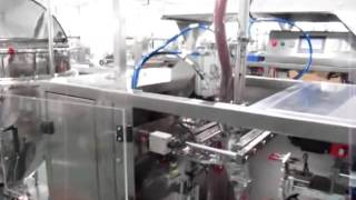 AP-1BT High Viscosity Liquid Filling Machine couple with Lobe Pump for Stand Up Pouches