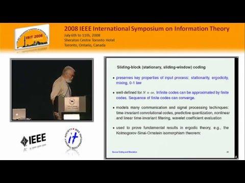 Robert M. Gray: Source Coding and Simulation