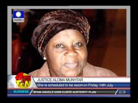 Nigeria gets first female Chief Justice