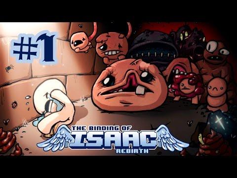 Прохождение The Binding of Isaac: Rebirth (s.02) #1 - Снова Айзек