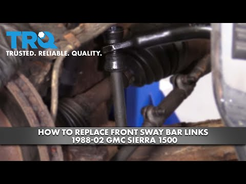 How to Replace Front Sway Bar Links 1988-02 GMC Sierra 1500