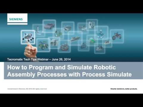 How to Program Industrial Robots for Assembly Processes with Tecnomatix