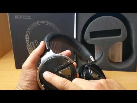 Cowin E-7 Wireless Bluetooth Headphones with Microphone Over-ear Stereo Headsets Review