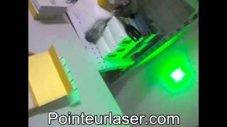 Laser Vert 400mw Brûlant des Allumettes