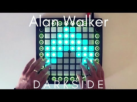 Alan Walker - Darkside feat AuRa and Tomine Harket  Launchpad Pro Cover