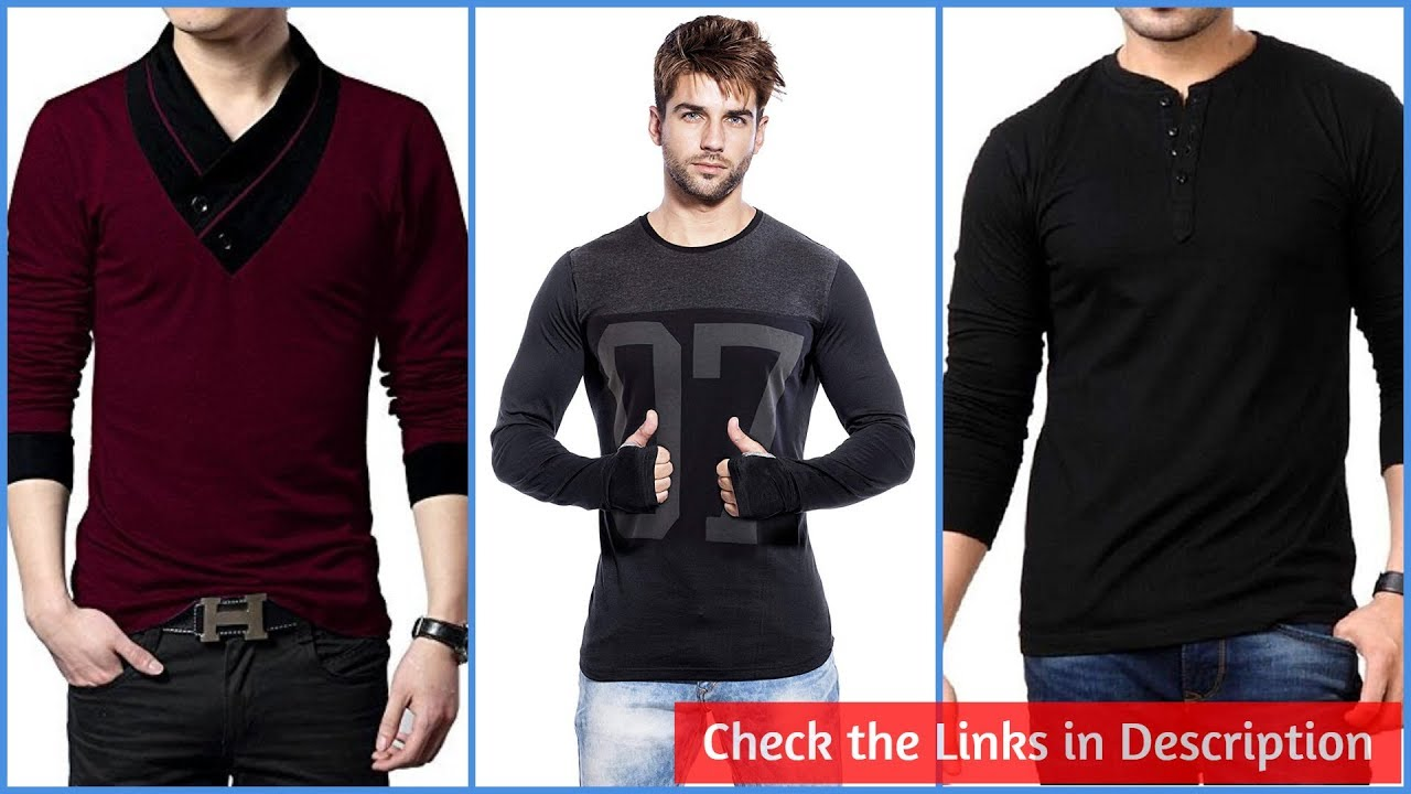 3fab2c4b4b7 Stylish Casual Wear T-Shirts for Men - YouTube